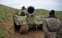 Ситуация в зоне карабахского конфликта, архивное фото