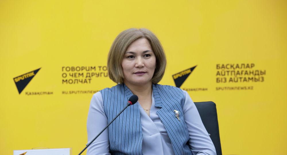 Заместитель председателя правления общественного объединения Atamnyn Amanaty Райгуль Мушанова