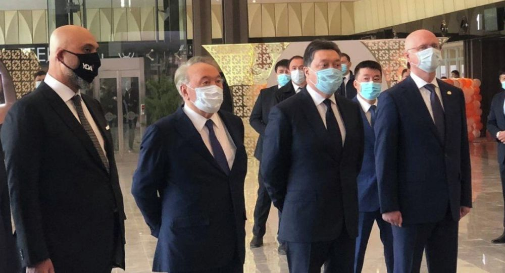 Нұрсұлтан Назарбаев Түркістан қаласында әуежайдың ашылуына қатысты