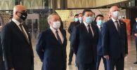 Нурсултан Назарбаев принял участие в церемонии открытия международного аэропорта города Туркестана
