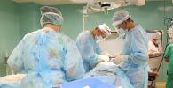 Операция по извлечению арматуры, проглоченной пациентом