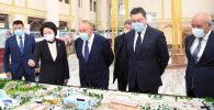 Елбасы ознакомился с планами дальнейшего развития города Туркестан