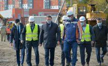 Строительство модульной инфекционной больницы в Петропавловске