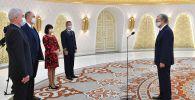 Президент Казахстана принял верительные грамоты