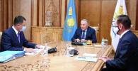 Нұрсұлтан Назарбаев Қазақстан халқы Ассамблеясы төрағасының орынбасары Жансейіт Түймебаевты  қабылдады