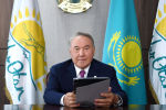 Nur Otan партиясының төрағасы Нұрсұлтан Назарбаев