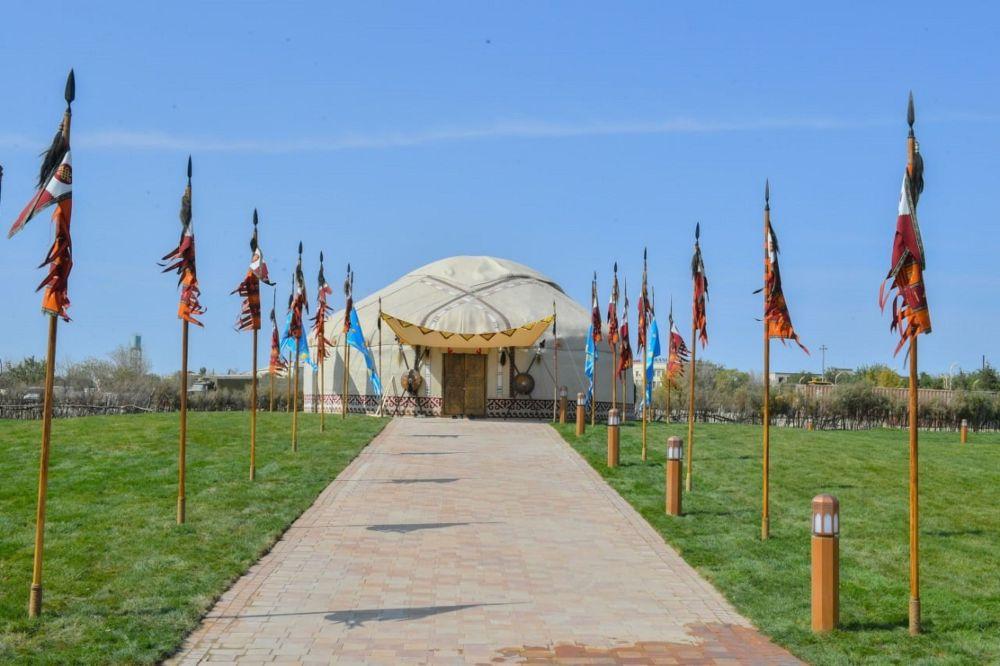 Этноаул в Туркестане