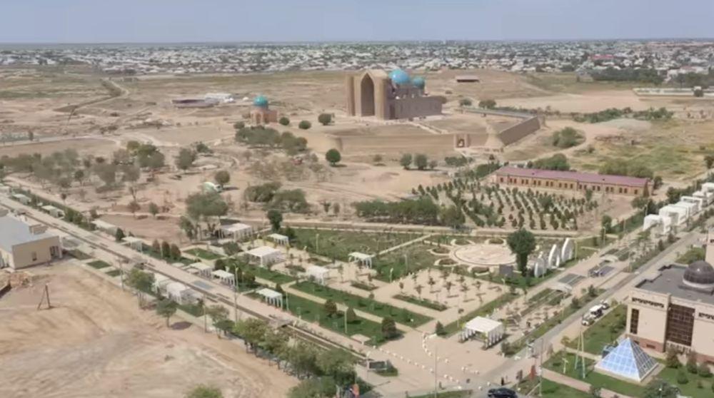 Реконструкция мавзолея Ходжа Ахмета Яссауи