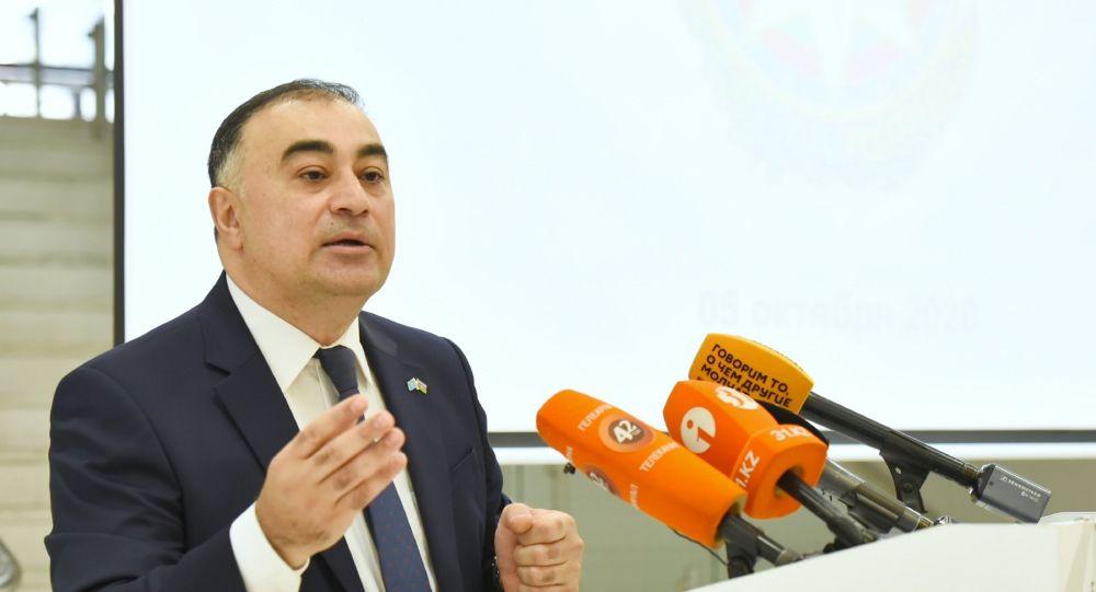 Чрезвычайный и полномочный посол Азербайджана в Казахстане Рашад Мамедов