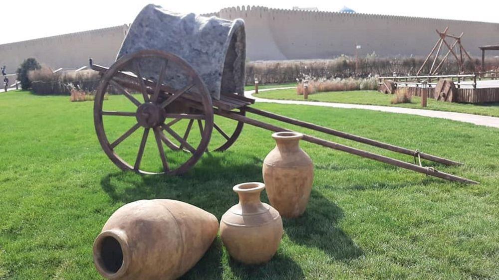Уникальный этноаул в Туркестане