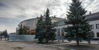 Железнодорожный вокзал в Петропавловске