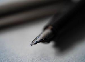 Перо, ручка, бумага, письмо, иллюстративное фото