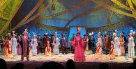 В день открытия 87-го театрального сезона, артисты представили концерт в честь юбилея знаменитого казахского поэта Абая Ұлы Абайға тағзым!