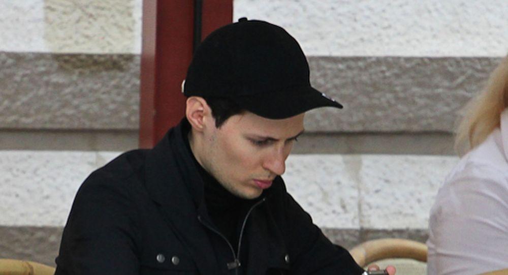 Основатель ВКонтакте и Telegram Павел Дуров