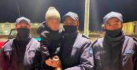 Нацгвардейцы подобрали трехлетнего мальчика в Жанаозене
