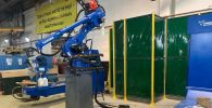 На предприятии АО Кентауский трансформаторный завод запущен японский робот-сварщик YaskawaMotoman