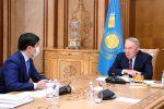Нұрсұлтан Назарбаев Бауыржан Байбекпен кездесті