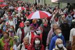 Марш пенсионеров в Минске