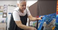 Художница из Геленджика создает скульптуры из мусора - видео
