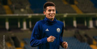 Темирлан Ерланов - защитник сборной Казахстана по футболу