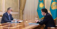 Қасым-Жомарт Тоқаев пен Алик Шпекбаев