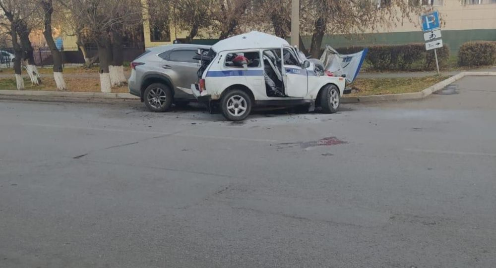 Житель Щучинска Акмолинской области допустил столкновение с автомашиной местной полицейской службы