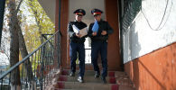 Астаналық егіз полицей өз жұмысы туралы айтып берді  - видео