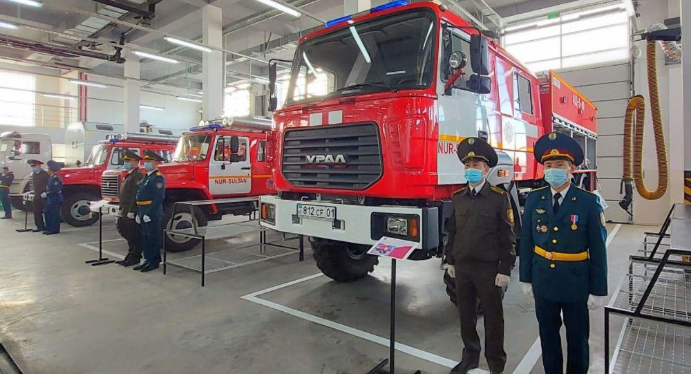 Новое пожарное депо открыли в Нур-Султане