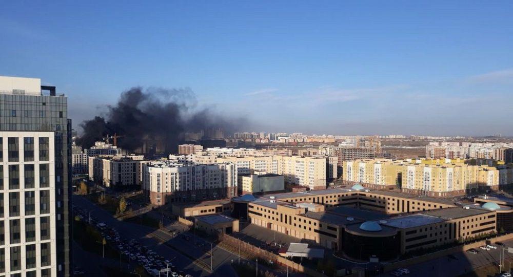 Пожар в Нур-Султане