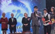 Мурат Иргалиев на церемонии награждения лауреатов конкурса Жас канат
