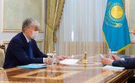 Касым-Жомарт Токаев принял генерального прокурора Гизата Нурдаулетова