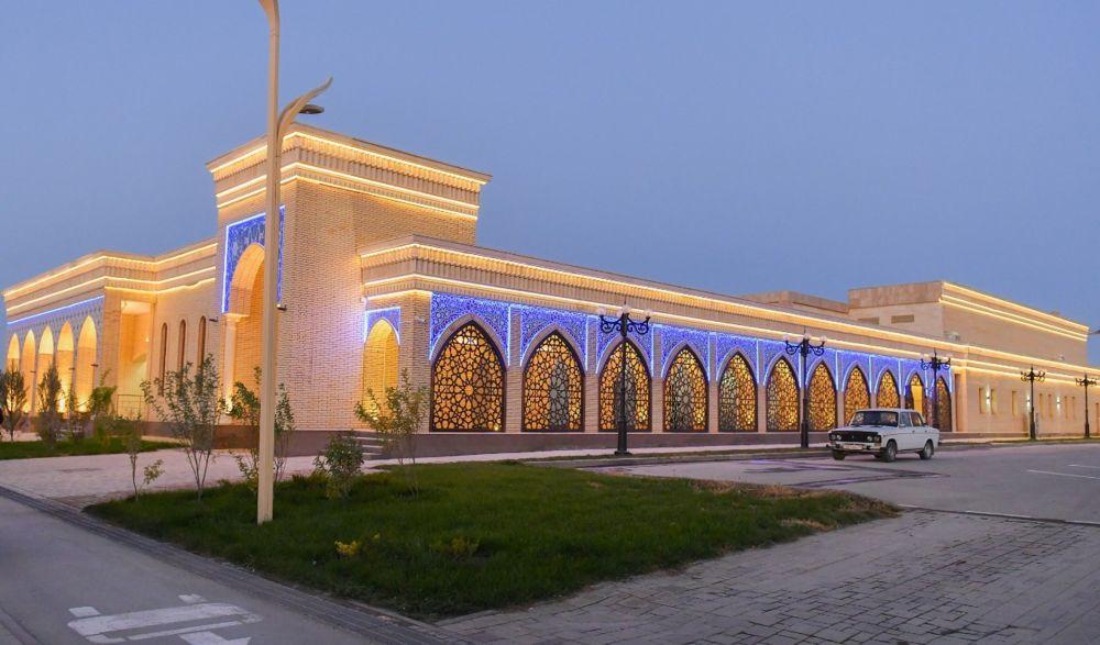Туристический центр Керуен-сарай в Туркестане