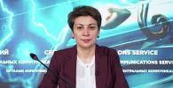 Председатель комитета санитарно-эпидемиологического контроля минздрава Казахстана Айжан Есмагамбетова