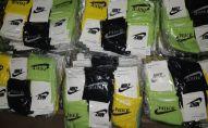 Самарские таможенники пресекли ввоз контрафактных носочных изделий на 400 млн рублей