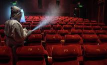 Кинотеатрдағы көрермендер залы