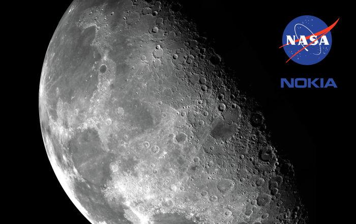 Nokia поможет NASА создать сотовую сеть... на Луне!