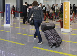 Нұрсұлтан Назарбаев әуежайы, жолаушыларды тіркеу