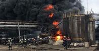 Пожар на заводе АрселорМиттал