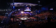 Ultimate Fighting Championship  (UFC) на острове Яс, архивное фото