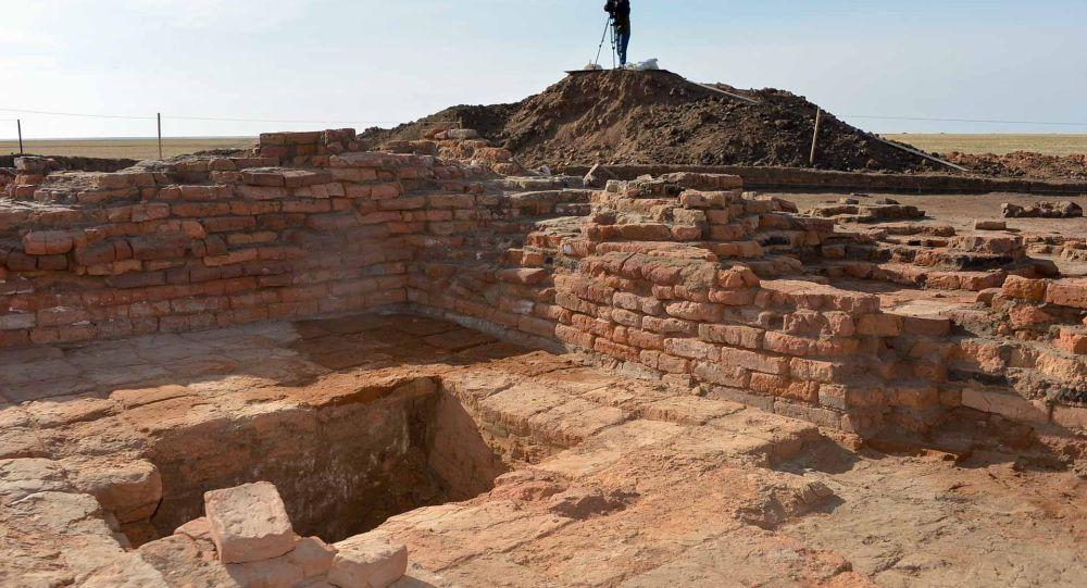 Археологический памятник Кызылоба