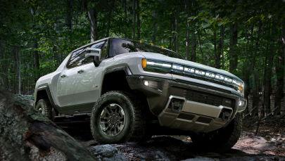 General Motors представил первый полностью электрический пикап Hummer