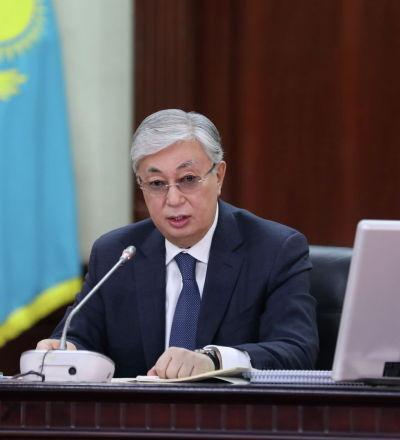 Глава государства Касым-Жомарт Токаев