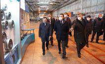 Премьер-министр посетил промышленные проекты Акмолинской области