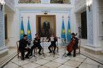 Концерт казахстанских студентов консерватории имени Чайковского в посольстве в Москве