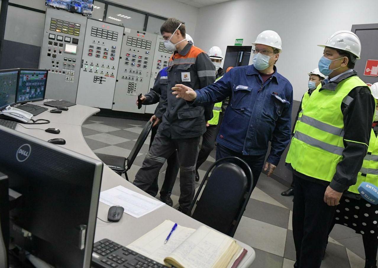 Министр энергетики Нурлан Ногаев посетил Павлодарскую область с рабочим визитом