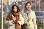 Девушки на прогулке в Нур-Султане