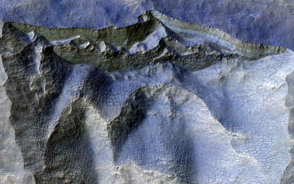 Марстың беткі қабаты. Ғаламның қайталанбас өрнектері!