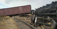 В Карагандинской области произошел сход 8 вагонов