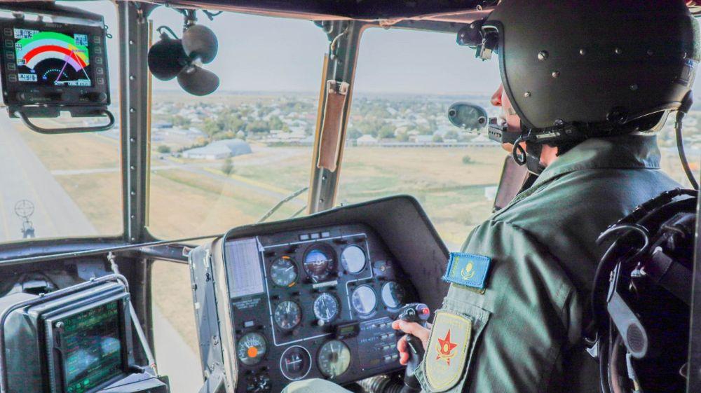 Вертолет МИ-35М ВВС Казахстана