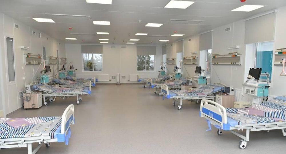Новую инфекционную больницу на 200 коек открыли в Петропавловске